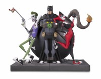DC GALLERY JOKER & HARLEY QUINN BOOKENDS
