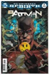 BATMAN #21 LENTICULAR VAR ED (THE BUTTON)