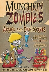 MUNCHKIN ZOMBIES ARMED AND DANGEROUS EXP