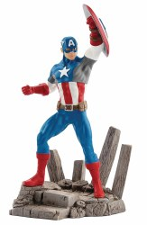 MARVEL CAPTAIN AMERICA PVC FIGURINE