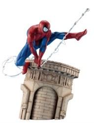 MARVEL UNIVERSE SPIDER-MAN WEBSLINGER ARTFX STATUE