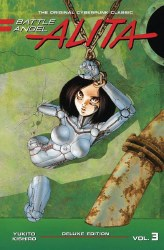 BATTLE ANGEL ALITA DELUXE ED VOL 03