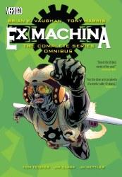 EX MACHINA THE COMPLETE SERIES OMNIBUS HC (MR)