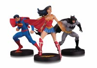 DC DESIGNER SER JIM LEE COLLECTOR 3 PACK STATUE SET