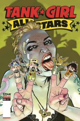 TANK GIRL ALL STARS #3 (OF 4) CVR B BOND