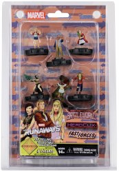 MARVEL HEROCLIX SECRET WARS FAST FORCES 6PK