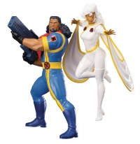 MARVEL UNIVERSE X-MEN 92 BISHOP & STORM 2PK ARTFX+ STATUE