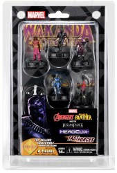 MARVEL HEROCLIX BLACK PANTHER ILLUMINATI FAST FORCES 6PK