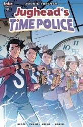 JUGHEAD TIME POLICE #4 (OF 5) CVR B ISAACS