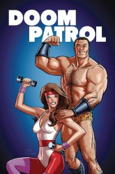 DOOM PATROL WEIGHT OF THE WORLDS #4 (MR)
