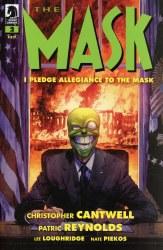 MASK I PLEDGE ALLEGIANCE TO THE MASK #2 (OF 4) CVR A REYNOLD