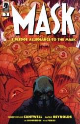 MASK I PLEDGE ALLEGIANCE TO THE MASK #2 (OF 4) CVR B HARREN