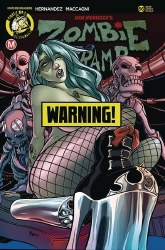 ZOMBIE TRAMP ONGOING #66 CVR F BOO RUDETOONS RISQUE (MR)