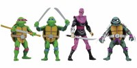 TMNT TURTLES IN TIME 7IN ACTION FIGURE SET 1