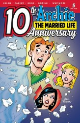 ARCHIE MARRIED LIFE 10 YEARS LATER #5 CVR A PARENT