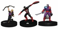MARVEL HEROCLIX CAPTAIN AMERICA AVENGGERS FAST FORCES 6PK
