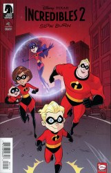 DISNEY PIXAR INCREDIBLES 2 SLOW BURN #1 (OF 3) CVR A VINCI (