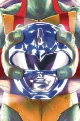 POWER RANGERS TEENAGE MUTANT NINJA TURTLES #3 LEO MONTES (C: