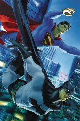 BATMAN SUPERMAN #9 MIKE MAYHEW VAR ED