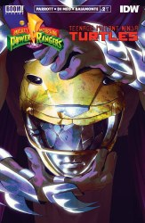 POWER RANGERS TEENAGE MUTANT NINJA TURTLES #2 2ND PTG