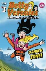 BETTY &VERONICA FRIENDS FOREVER DANGER ZONE #1