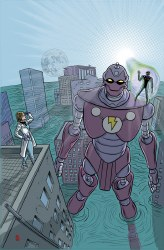 X-RAY ROBOT #3 (OF 4) CVR A ALLRED
