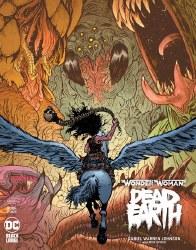 WONDER WOMAN DEAD EARTH #4 (OF 4) DANIEL W JOHNSON VAR ED (M