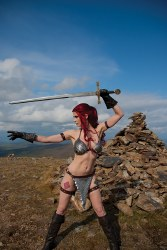 RED SONJA #19 CVR E DECOBRAY COSPLAY