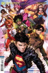 YOUNG JUSTICE #18 CARD STOCK DERRICK CHEW VAR ED