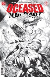 DCEASED DEAD PLANET #2 (OF 6) 2ND PTG
