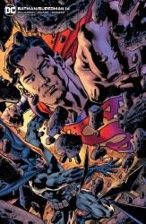 BATMAN SUPERMAN #14 BRYAN HITCH VAR ED