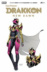 POWER RANGERS DRAKKON NEW DAWN #1 (2ND PTG)