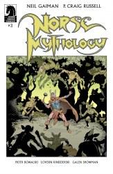 NEIL GAIMAN NORSE MYTHOLOGY #3 CVR A RUSSELL