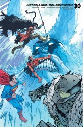 JUSTICE LEAGUE ENDLESS WINTER #2 CARD STOCK VAR ED