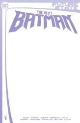 FUTURE STATE THE NEXT BATMAN #1 BLANK CARD STOCK VAR ED