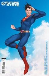 FUTURE STATE SUPERMAN OF METROPOLIS #1 CARD STOCK VAR ED