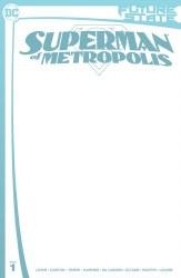 FUTURE STATE SUPERMAN OF METROPOLIS #1 BLANK CARD STOCK VAR