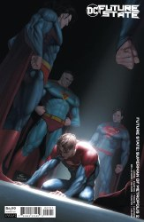 FUTURE STATE SUPERMAN OF METROPOLIS #2 CARDSTOCK VAR ED