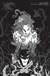 BATMAN BLACK & WHITE #3 (OF 6)POISON IVY VAR BY KHARY RANDO