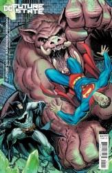 FUTURE STATE BATMAN SUPERMAN #2 CARDSTOCK VAR ED