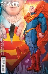 FUTURE STATE SUPERMAN VS IMPERIOUS LEX #3 CARDSTOCK VAR ED