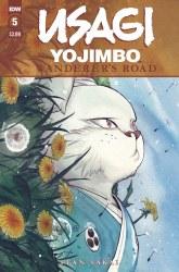 USAGI YOJIMBO WANDERERS ROAD #5 (OF 6) PEACH MOMOKO CVR