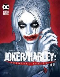 JOKER HARLEY CRIMINAL SANITY #8 (OF 9) CVR B BADOWER VAR (MR