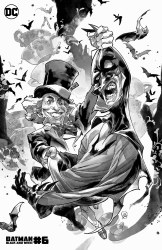BATMAN BLACK & WHITE #6 (OF 6)CVR C HATTER PUTRI VAR