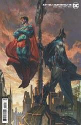 BATMAN SUPERMAN #18 CVR B BIANCHI CARDSTOCK VAR