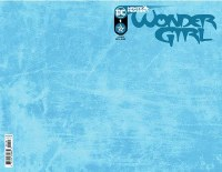 WONDER GIRL #1 CVR C BLANK CARD STOCK VAR