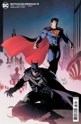 BATMAN SUPERMAN #19 CVR B CARDSTOCK CAPULLO VAR