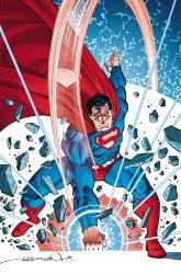 SUPERMAN RED & BLUE #4 CVR B CARDSTOCK SIMONSON