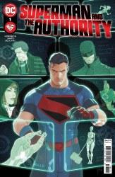 SUPERMAN & AUTHORITY #1 CVR AJANIN