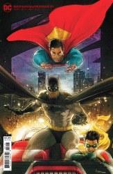 BATMAN SUPERMAN #21 CVR B CARDSTOCK VAR
